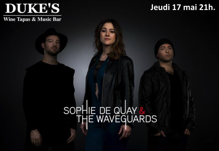 Concert Sophie De Quay & The Wavegards du 17 mai 2018