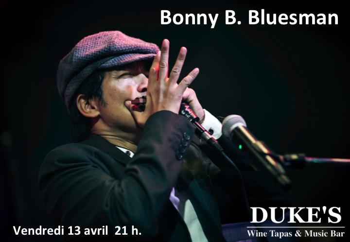 Concert de Bonny B du 13 avril 2018