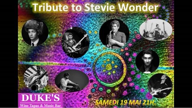 Tribute to Steve Wonder du 19 mai 2018
