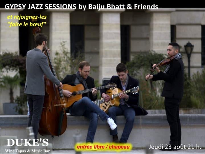 23.08 Gypsy Jazz Session By Baiju Bhatt & Friends